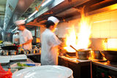 Китайский шеф-повар стоковые фотографии rf
