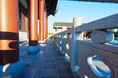 Китайский штендер классической архитектуры Стоковая Фотография