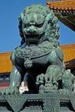 китайский львев Стоковая Фотография