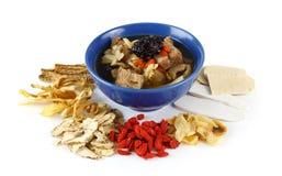 Китайский ясный суп Стоковое Изображение
