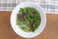 Китайский ясный суп Стоковые Изображения RF