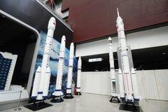 китайский cz выпускает ракету космос серии Стоковое Изображение