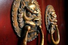 китайский knocker стоковые фото