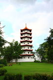 китайский pagoda Стоковое Изображение RF