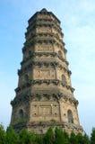 китайский pagoda Стоковые Изображения RF