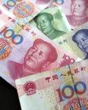 китайский renminbi yuan Стоковые Фотографии RF