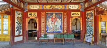 китайский theatrical этапа Стоковые Изображения RF