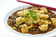 китайский tofu Стоковые Изображения