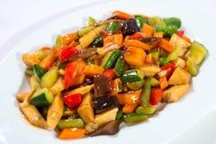 Китайский vegetable салат Стоковые Изображения