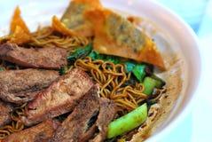 китайский vegetarian типа свинины лапшей Стоковое Изображение RF