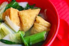 китайский vegetarian типа супа Стоковые Изображения RF