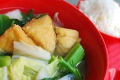китайский vegetarian типа супа Стоковое фото RF