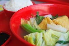 китайский vegetarian типа супа Стоковые Изображения