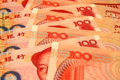 китайский yuan Стоковое фото RF
