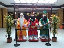 3 китайских мудрецы Стоковая Фотография