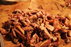Китайское барбекю баранины Стоковое Изображение RF