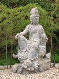Китайское буддийское положение Стоковые Фото