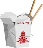 китайское быстро-приготовленное питание Стоковая Фотография RF