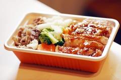 китайское быстро-приготовленное питание Стоковое фото RF