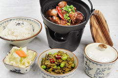 китайское быстро-приготовленное питание Стоковые Изображения