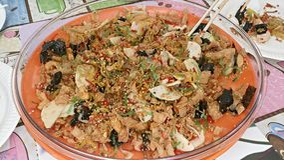 Китайское блюдо Нового Года Стоковое Фото