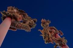 Китайское ворот--Китайские люди Стоковые Изображения RF