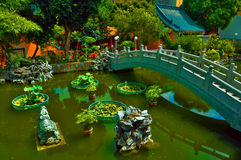китайское Дзэн сада Стоковые Фото