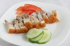 китайское жаркое свинины стоковые фото