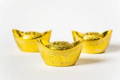 Китайское золото Стоковые Фотографии RF