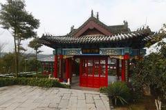 Китайское зодчество Стоковое Фото