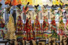 Китайское искусство народного театра, тень Стоковые Фотографии RF