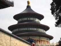 Китайское историческое здание Стоковые Изображения RF