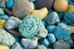 китайское каменное weihua Стоковые Изображения