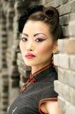 китайское модельное напольное Стоковая Фотография