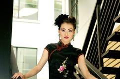 китайское модельное напольное Стоковое Изображение