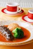 китайское море риса еды огурца Стоковое Изображение RF