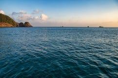 китайское море южное Стоковое Изображение RF