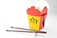 китайское мясо контейнера Стоковое Изображение