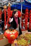 китайское Новый Год базарной площади Стоковое Изображение