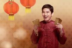 китайское Новый Год принципиальной схемы Стоковое Фото