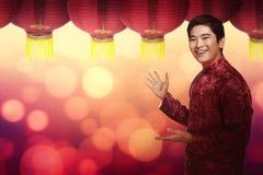 китайское Новый Год принципиальной схемы Стоковое Изображение RF