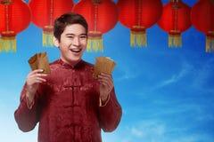 китайское Новый Год принципиальной схемы Стоковые Изображения