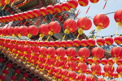 китайское Новый Год фонариков Стоковые Изображения