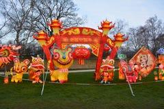 китайское Новый Год фонариков Стоковое Изображение
