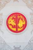 Китайское окно виска Стоковые Фото