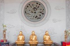 Китайское окно виска Стоковая Фотография