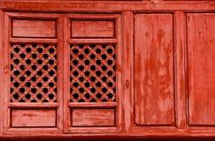 китайское окно Стоковая Фотография