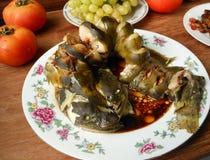 Китайское основное блюдо сома банкета Стоковые Изображения