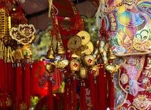 китайское оформление на Новый Год Стоковые Фото