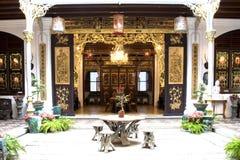 китайское патио дома наследия Стоковая Фотография RF